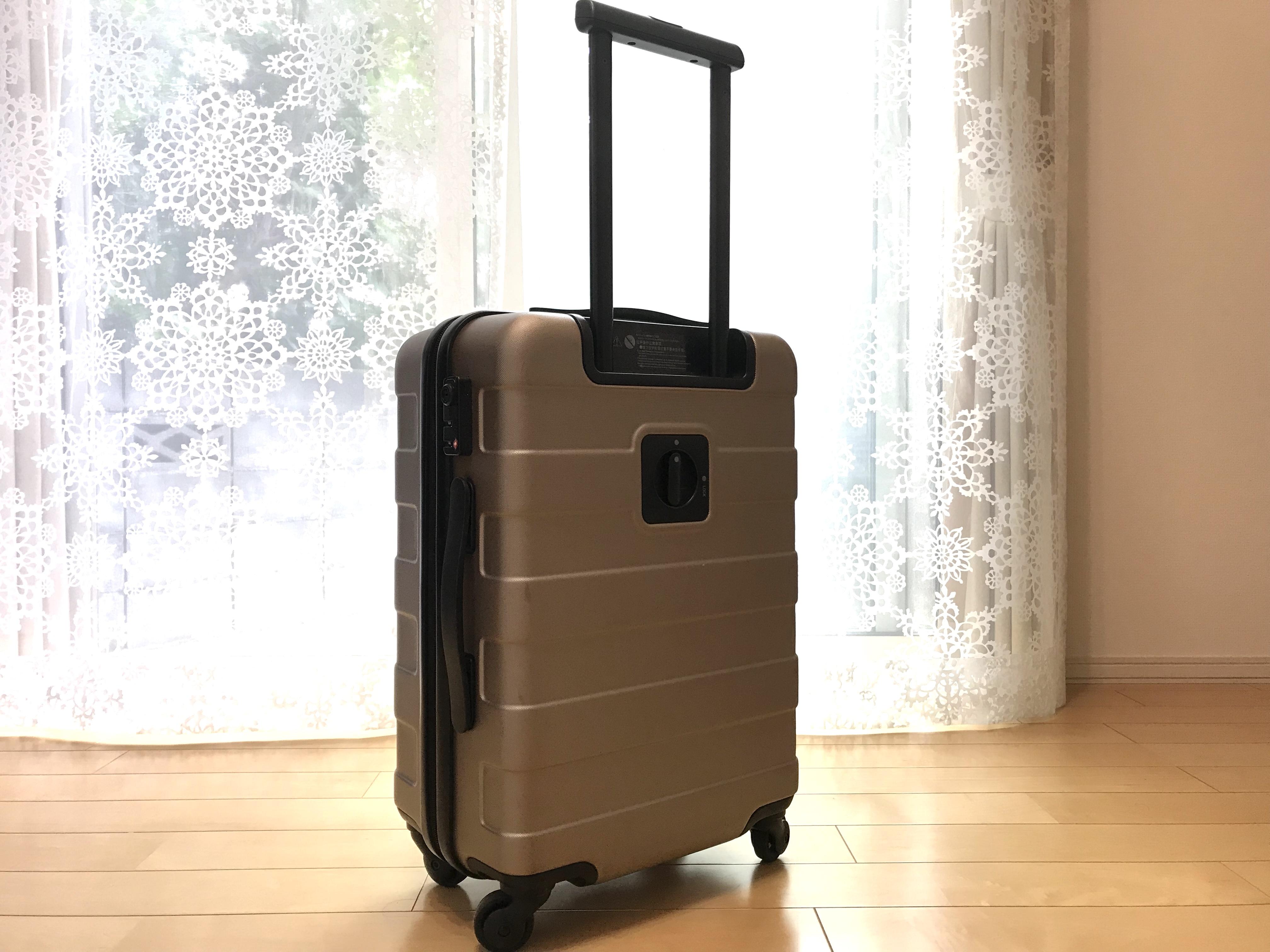 LIMIA投稿:運びやすい!が命のキャリーケースで無印良品製が秀逸な3つの理由
